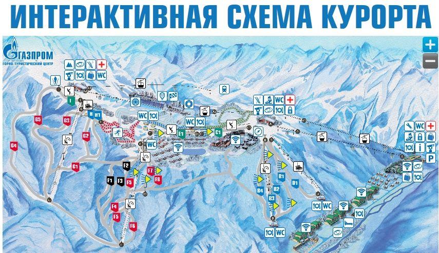 Интерактивная карта доступна